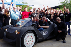 World's First 3D-printed Car from Local Motors