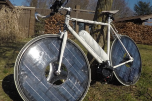 Green Biking Turns to Solar Power