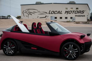 Local Motors Debuts World's First 3D-Printed Car Series