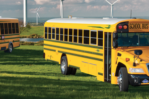 Blue Bird Unveils Three New School Bus Powertrains for 2016