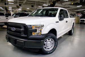 First CNG and Propane-Capable 2016 Ford F-150 Rolls Off the Line at Kansas City