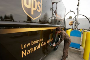 UPS  Invests $100 Million in CNG Vehicles and Systems
