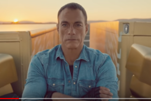 Jean-Claude Van Damme Performs Epic Split