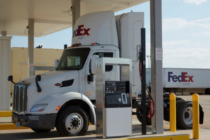 New CNG Fueling At Oklahoma City Service Center for FedEx Freight