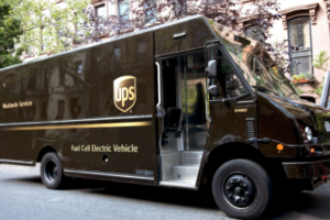 UPS Showcases Extended Range Fuel Cell Electric Delivery Vehicle
