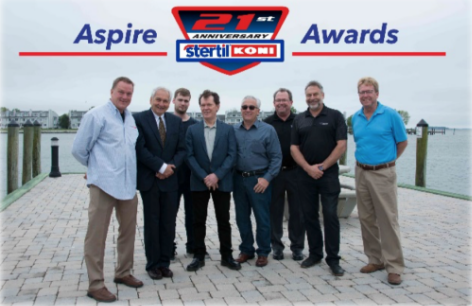 Stertil-Koni Honors Six Distributors with Aspire Program award