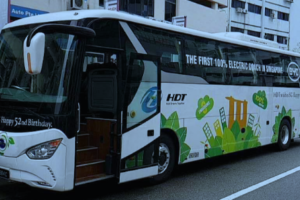Electric Vehicle Fleet Expands in Singapore