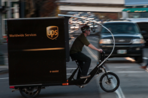 UPS Launches eBike Solution in Pittsburgh