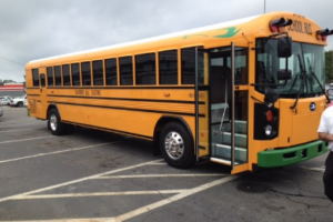 Blue Bird All American Electric School Bus Qualifies for California HVIP Funding