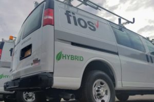 Verizon's  New York Van Fleet Goes Hybrid Electric