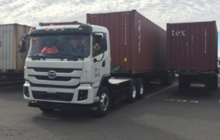BYD Delivers First Battery-Electric Truck to  Port of Oakland