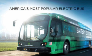 HART to Demo Electric Bus in Downtown Tampa